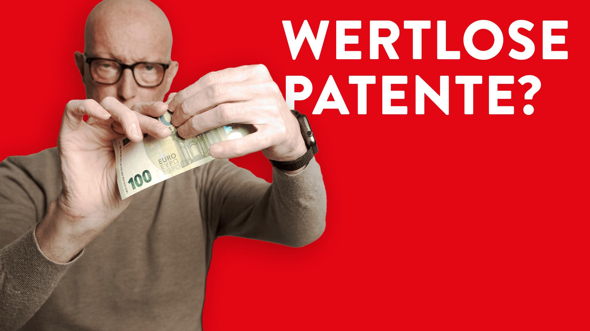Wert von Patenten