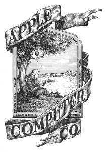 Das erste Markenlogo von Apple war alles andere als minimalistisch.